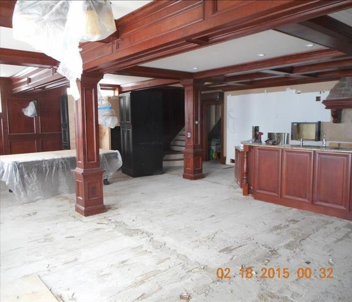 Flooded Lake House in Auburn, NY After